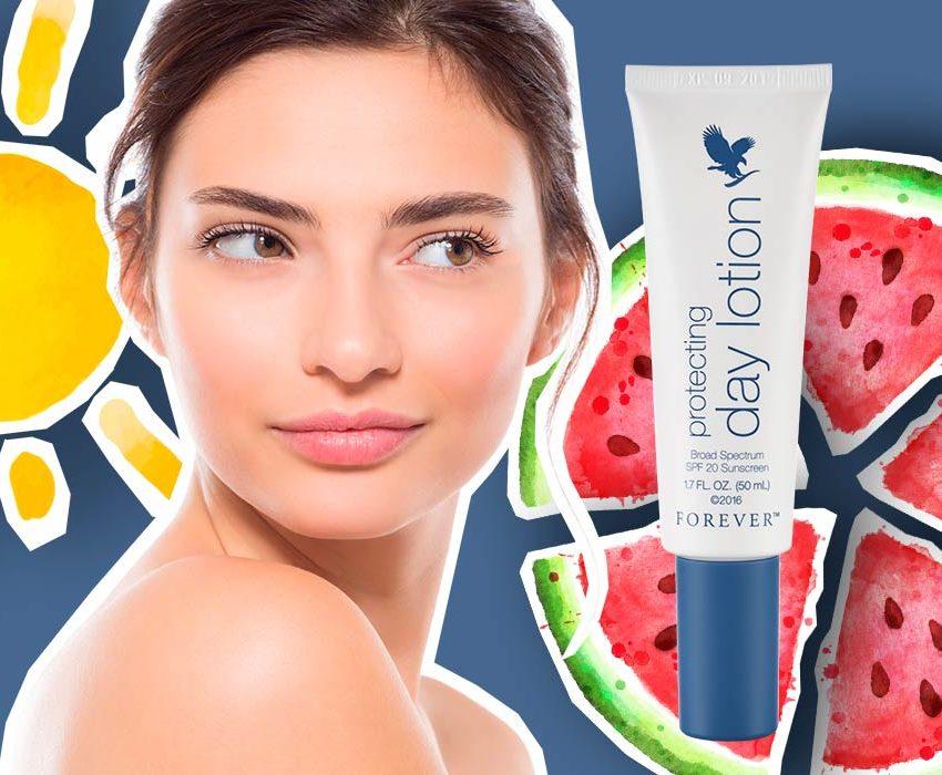 Crème de jour SPF 20 protection solaire anti-âge