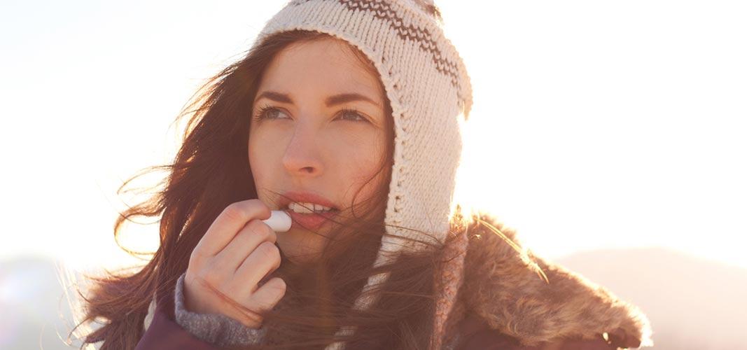 Soins naturels des lèvres en hiver